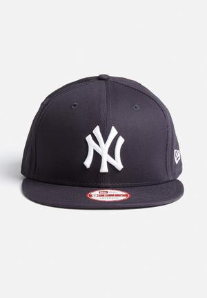New Era 9FIFTY Basic NY Yankees Headwear Navy Blue
