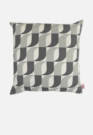 Skinny La Minx Aperture Cushion Cover Cotton / Linen