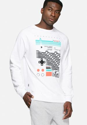 2Bop 8 Bit Dreams Sweat Hoodies & Sweatshirts White