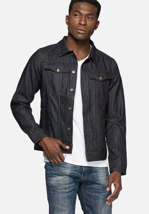 G-Star RAW 3301 3D Slim Jacket Dark Blue Raw Devon Denim
