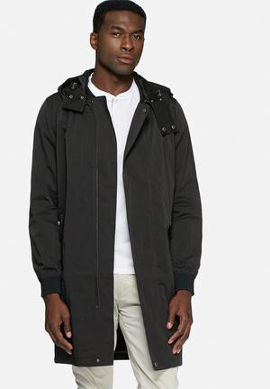 Selected Homme London Parka Jackets Black