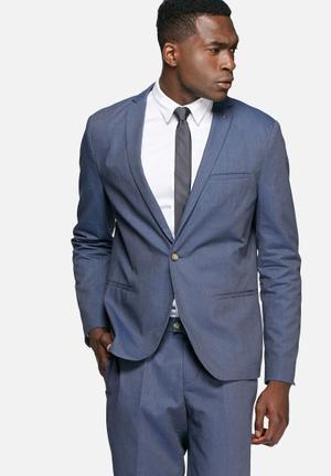 Selected Homme Nolan Blazer Jackets & Coats Blue