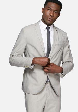 Selected Homme Nolan Blazer Jackets & Coats Stone