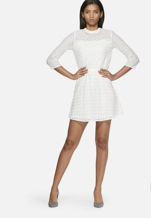 ONLY Marita Lace Dress Occasion White