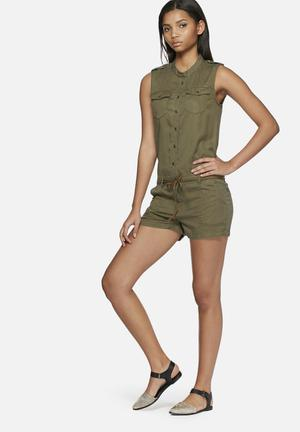 ONLY Arizona Playsuit Olive