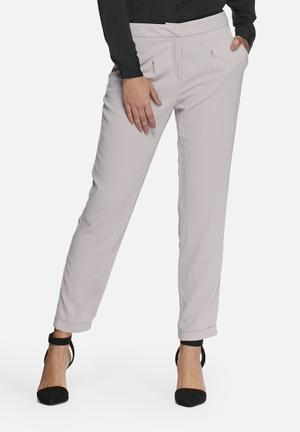 Vero Moda Ea Loose Pants Trousers Grey