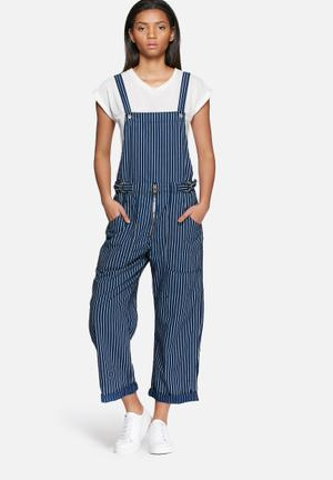 G-Star RAW Utility Zip Overall Jumpsuits & Playsuits Navy