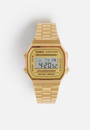 Casio Digital Wrist Watch Gold
