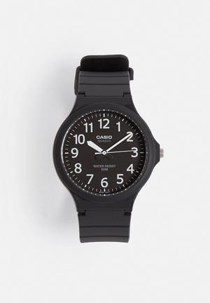 Casio Analog Watch MW-240-1BVDF Black