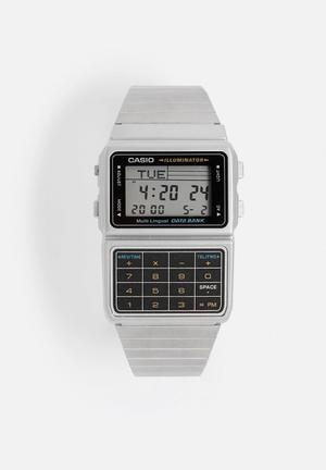 Casio Calculator Wrist Watch DBC-611-1DF Silver