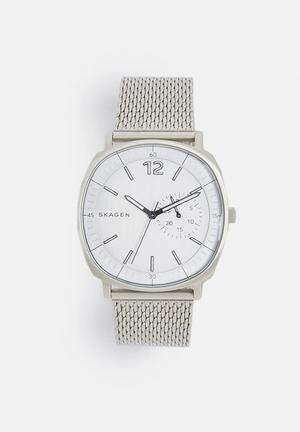 Skagen Cushion Watches Silver
