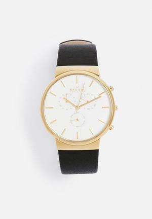 Skagen Ancher Watches Black