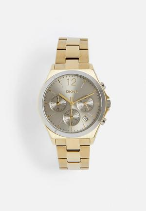 DKNY Parson Watches Gold