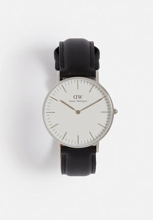 Daniel Wellington Sheffield Watches Silver & Black