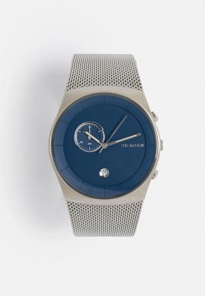 Skagen Havene Watches Blue & Silver