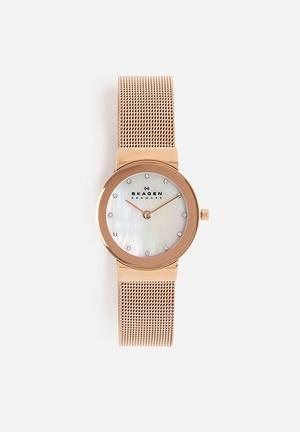Skagen Freja Watches Rose Gold