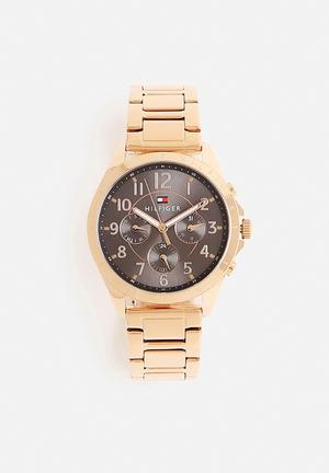 Tommy Hilfiger Kingsley Watches Rose Gold