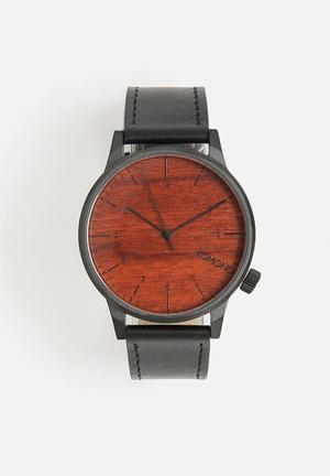 Komono  Winston Watches Black / Wood
