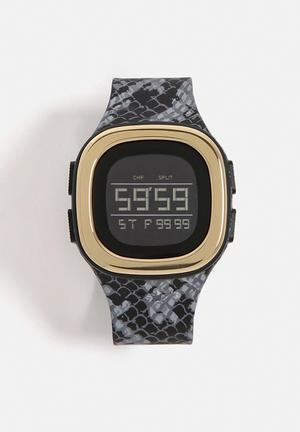 Adidas Originals Denver Watches Grey / Black / Silver