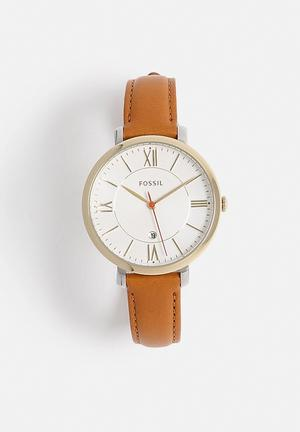 Fossil Jacqueline Watches Tan