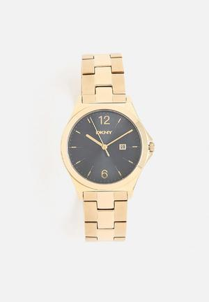 DKNY Parsons Watches Gold
