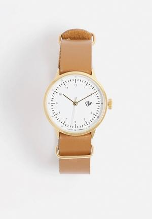 CHPO Harold Mini Watches Brown & Gold
