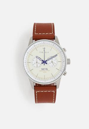 Triwa Ivory Nevil Watches Brown / Off White