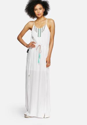 Vero Moda Madeleine Dress Casual White