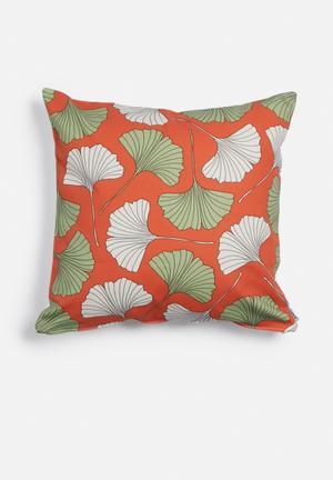 A Love Supreme Fan Leaf Cushion Cover Canvas