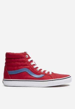 Vans SK8-Hi Reissue Sneakers Red / Blue Ashes