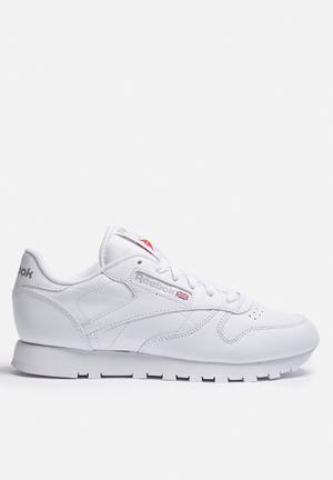 Reebok Classic Leather Sneakers White