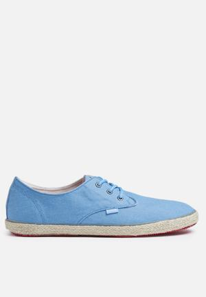 Blend Espadrillos Flat Slip-ons And Loafers Blue
