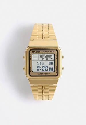 Casio Digital Wrist Watch A500WGA-9DF Gold
