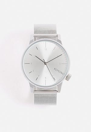 Komono  Winston Royale Watches Silver