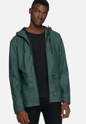Blend Rain Jacket Green