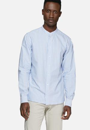 Casual Friday Matt Shirt Blue