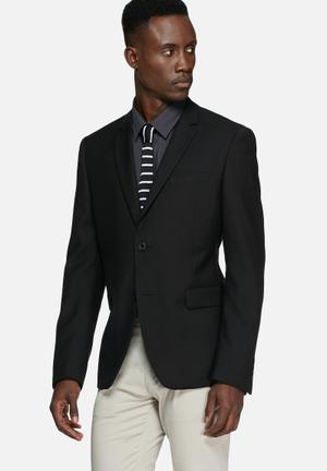 Casual Friday Ryan Slim Blazer Jackets & Coats Black