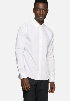 Casual Friday Devon Slim Shirt White