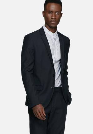 Only & Sons Talbot Blazer - Night Sky Jackets & Coats Dark Navy Blazer