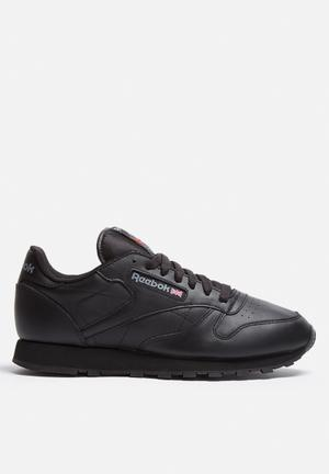 Reebok Classic Leather Sneakers  Black