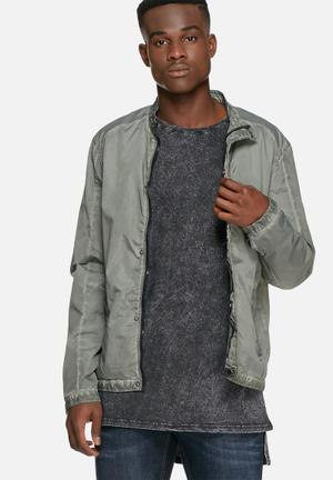 Solid Brant Jacket Green
