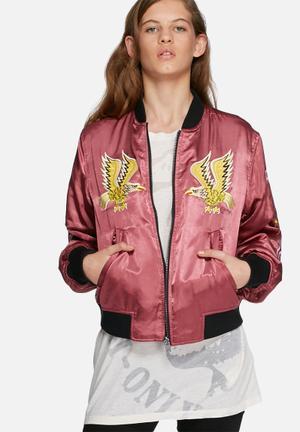 Asy bomber jacket