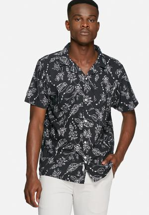 Bellfield Mojave Shirt Black & White