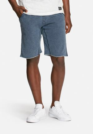 Solid Cagney Shorts Blue