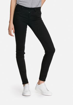 ONLY Minna Skinny Pants Trousers Black