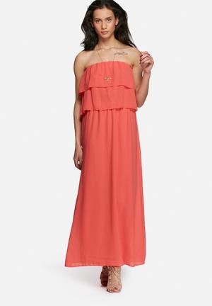 Vero Moda Marion Dress Casual Coral