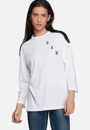 G-Star RAW Sepeke Tee T-Shirts, Vests & Camis White
