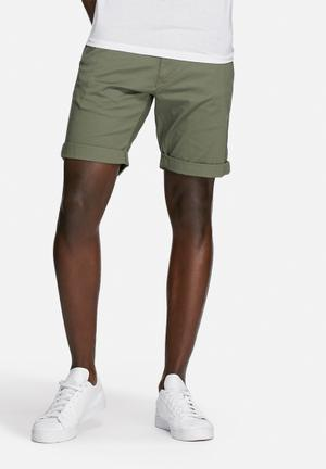 Selected Homme Paris Shorts Olive