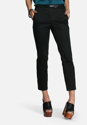 Vero Moda Roos Slim Pants Trousers Black