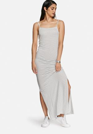 Vero Moda Winona Dress Casual White & Black